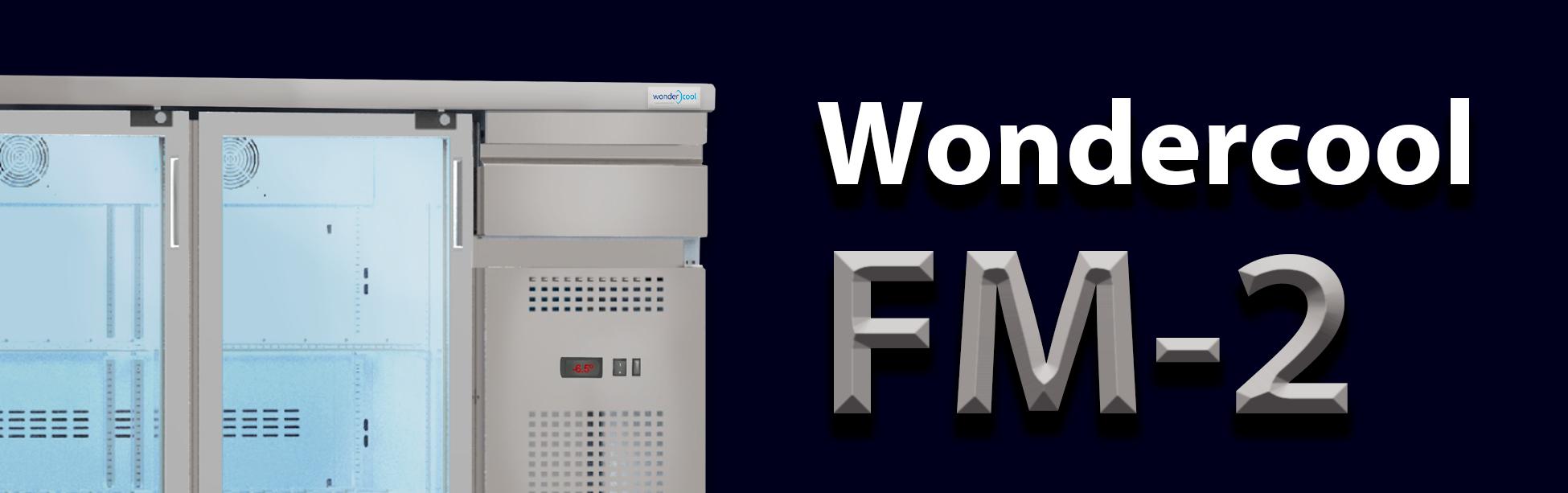 Wondercool presenta Wondercool FM-2, el primer superenfriador en formato bajobarra.